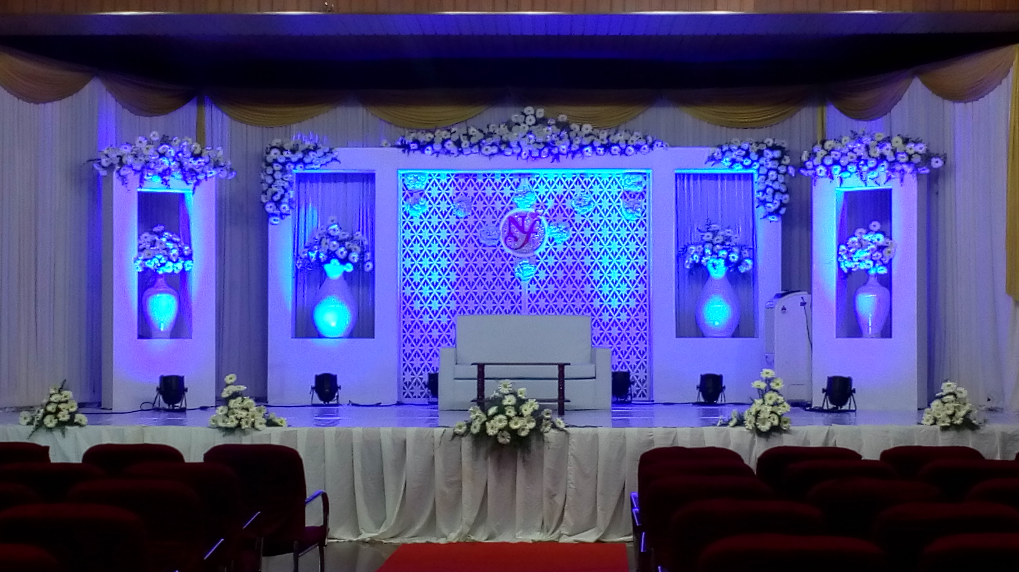 Courses of fmf events academy fmf events academy wedding stage decoration course kerala india junglespirit Images
